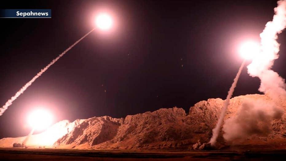 Iran launches ballistic missiles into Syria