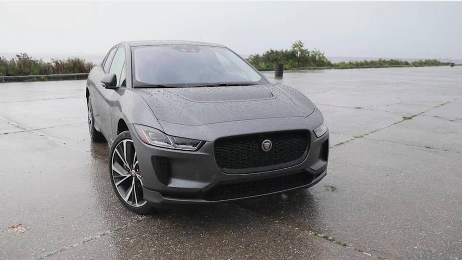 Electric Jaguar I-Pace starts stalking Tesla