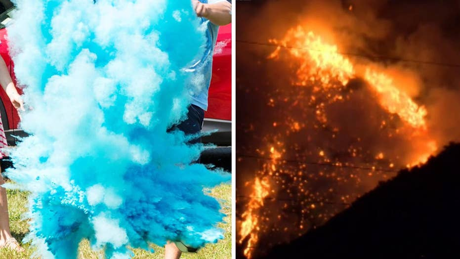 Gender-reveal stunt goes horribly wrong, sets forest ablaze