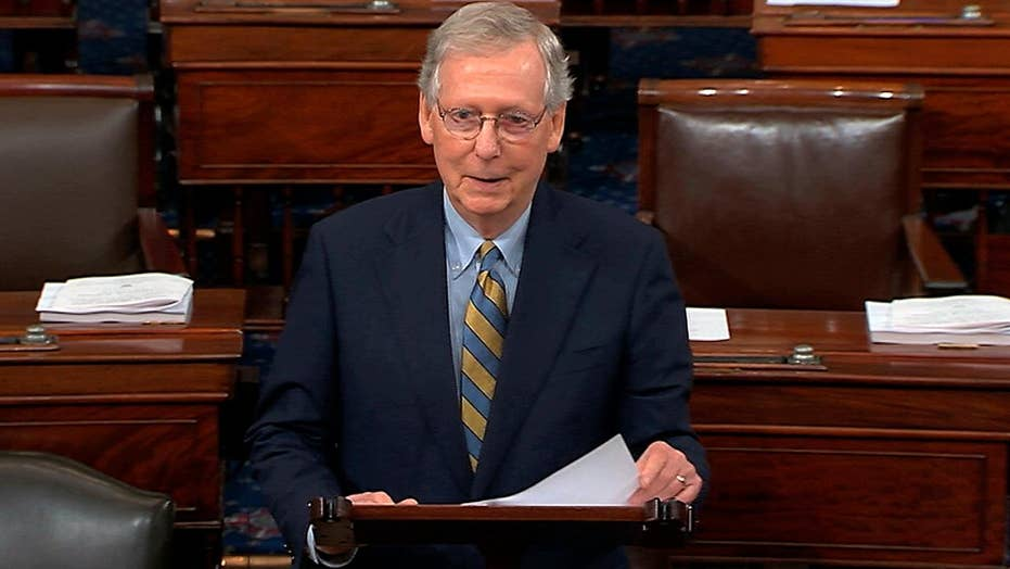 McConnell predicts Dems will move the goalposts on Kavanaugh<br>