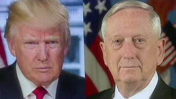 Mattis works to dispel rumors, says Trump is '100 percent' with him