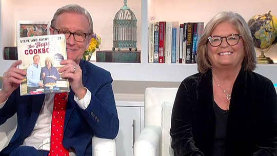 Steve and Kathy Doocy's 'The Happy Cookbook' hits shelves