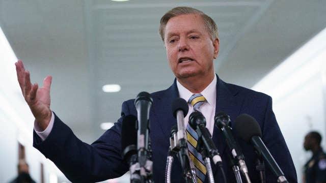 Graham responds to the left's shameful attacks on Kavanaugh