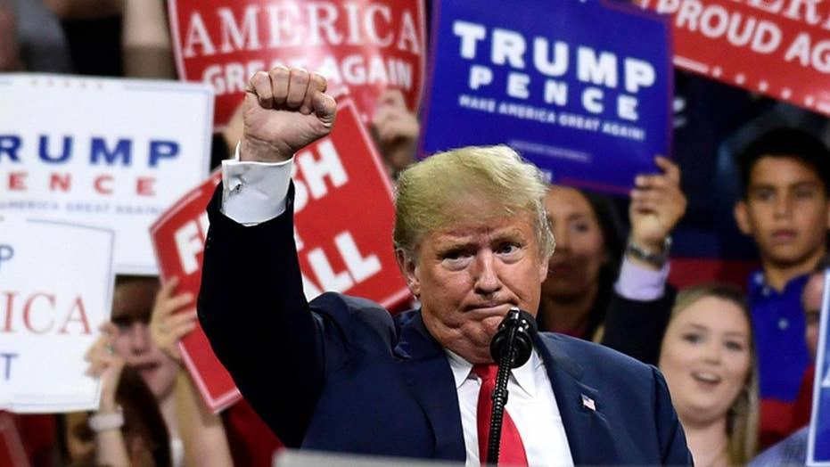 Trump mocks Senator Blumenthal in fiery Tennessee rally