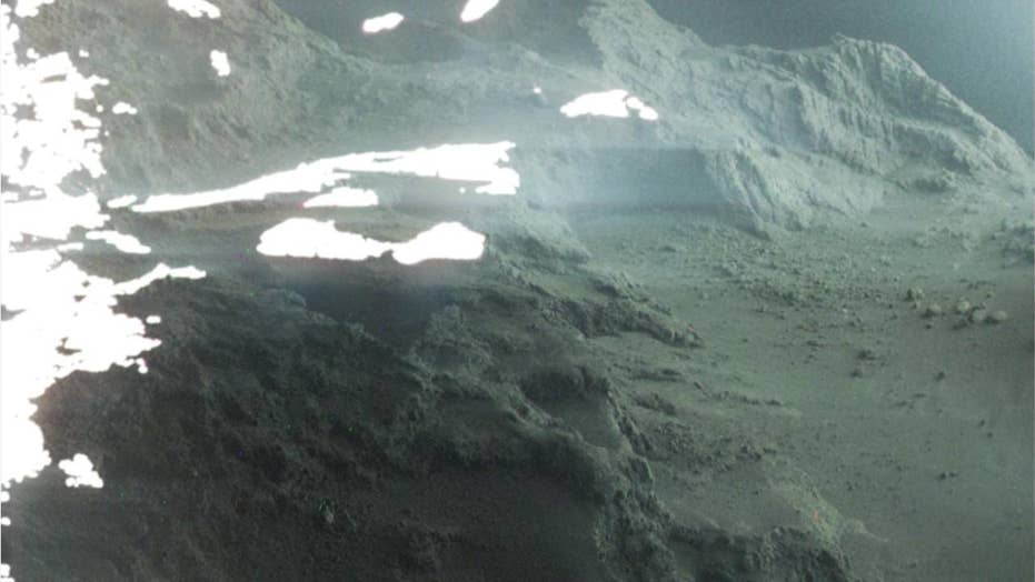 Stunning image reveals what it's like to stand on a comet