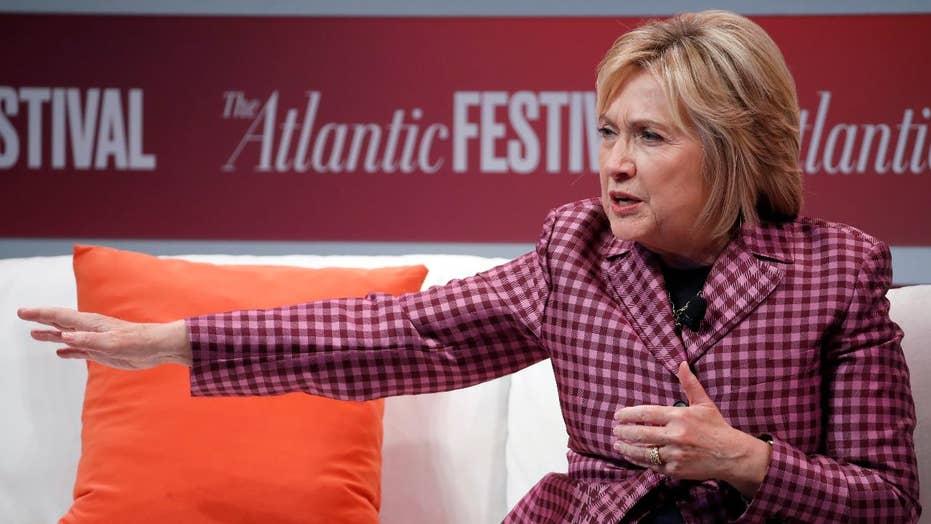 Hillary Clinton speaks on Kavanaugh, Ford
