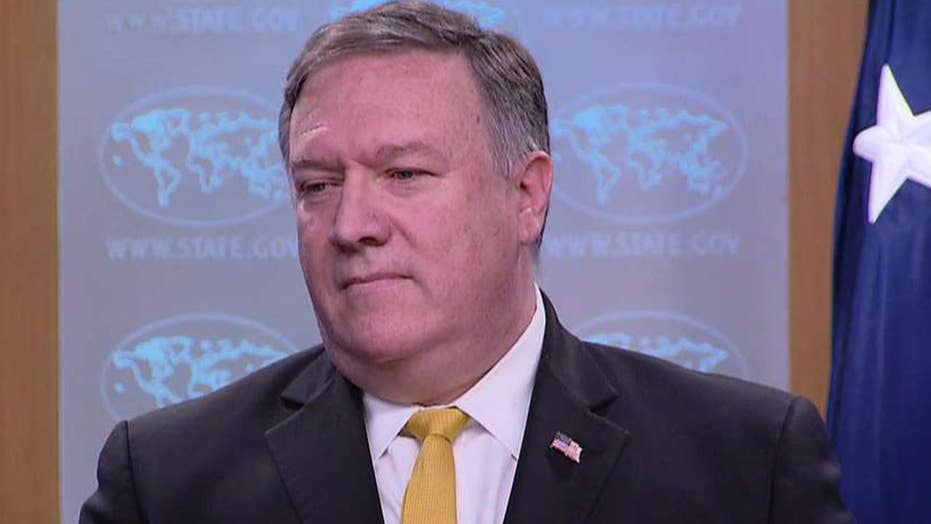 Secretary Pompeo: US to pull out of major treaty with Iran