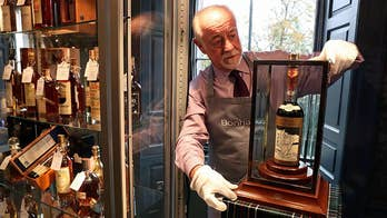 World's most expensive bottle of whisky sells for $1.1M at auction