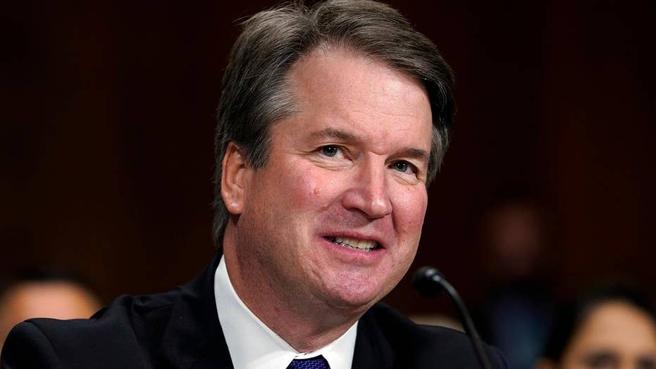 Senators take turns reviewing FBI Kavanaugh report