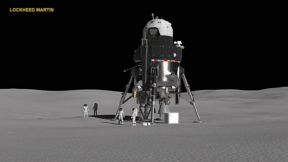 Lockheed Martin unveils new lunar lander