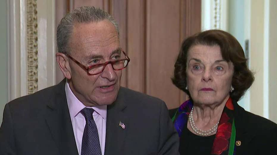 Senate Democrats react to FBI's report on Kavanaugh claims