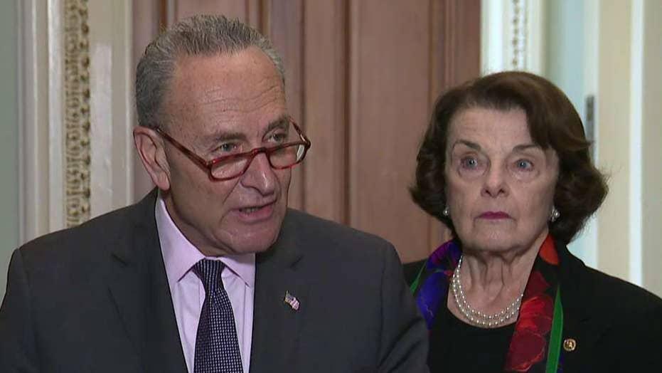 Senate Democrats react to FBI's report on Kavanaugh claims