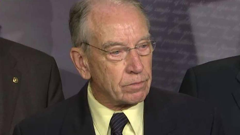 Sen. Grassley: Kavanaugh process has been fair and thorough