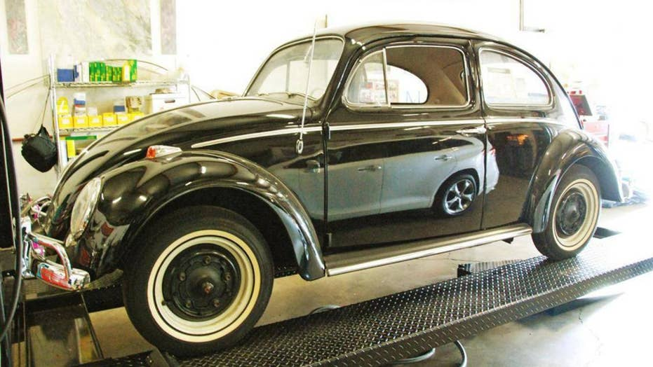 Volkswagen Beetle that has been stored since new on sale for $1,000,000