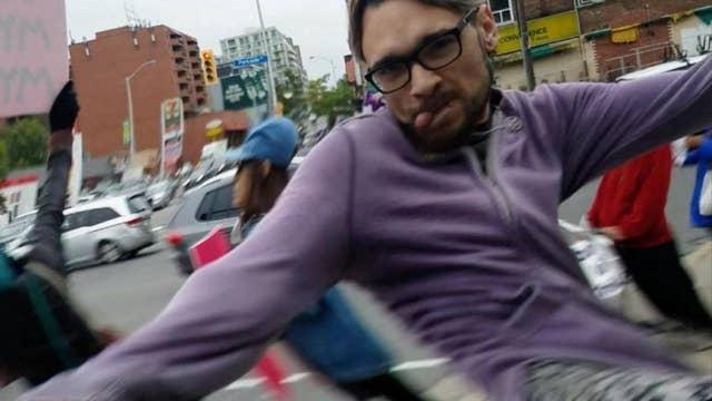 Caught on camera: Man attacks pro-life demonstrator