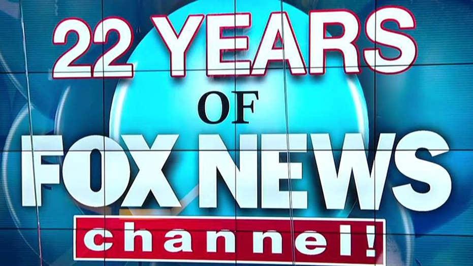 Fox News Channel celebrates its 22nd anniversary | Fox News