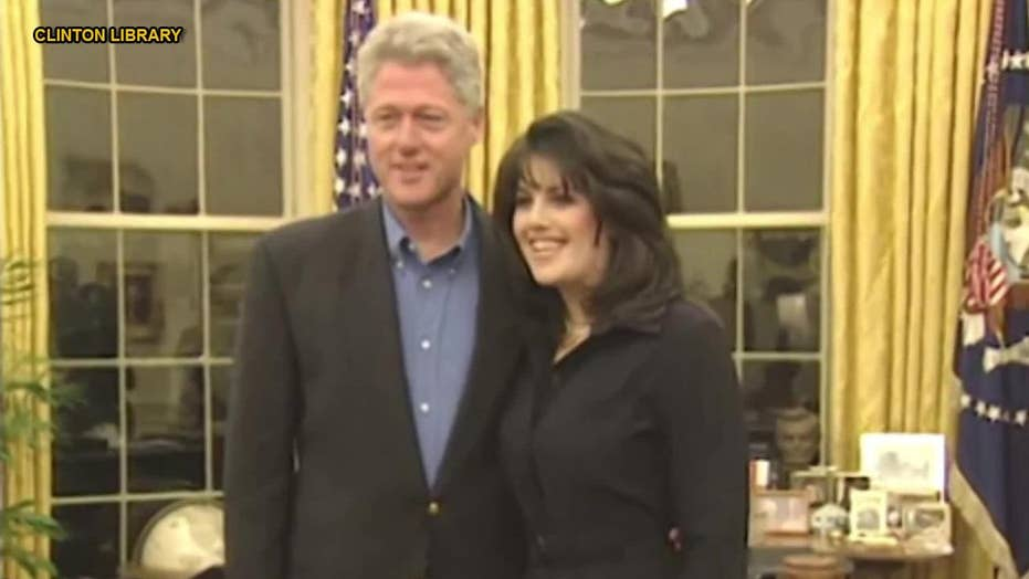New video: Bill Clinton seen with Monica Lewinsky in the Oval Office.