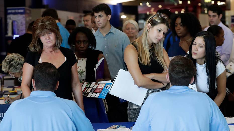 Unemployment rate falls to 3.7 percent