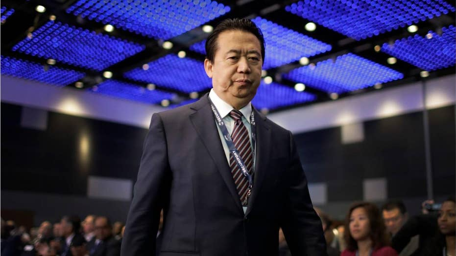 Interpol president vanishes during trip to China