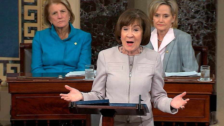 Senator Collins announces intention to vote for Kavanaugh