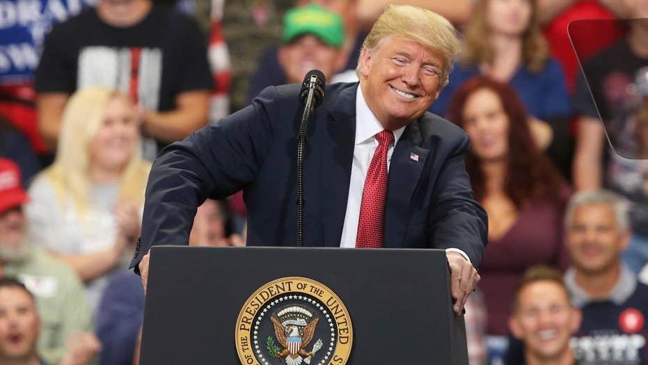 Trump speaks at Make America Great Again rally in Kansas