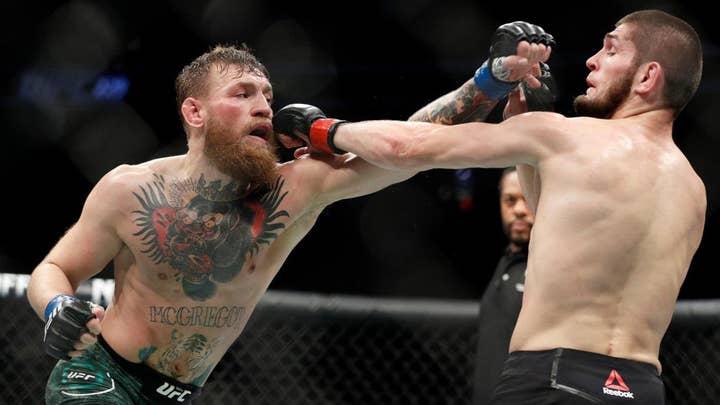 McGregor vs Nurmagomedov post-match melee