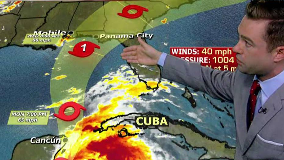 Tropical storm Michael may intensify into a hurricane