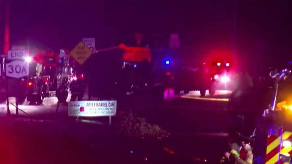 At least 20 dead after limo crash in upstate New York