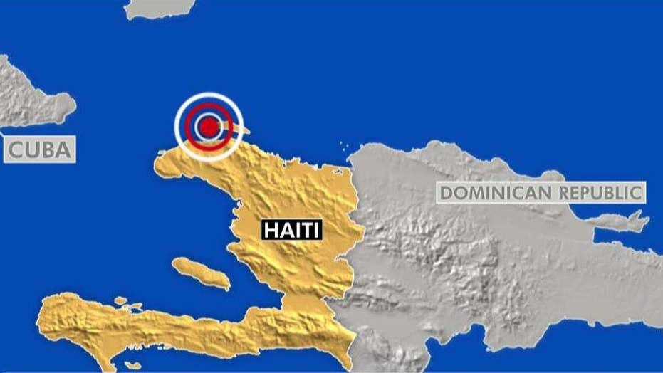 Haiti earthquake death toll at least twelve
