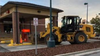 Thieves try to use tractor to rob ATM in Colorado