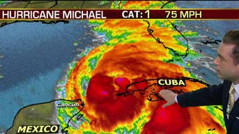 Hurricane Michael expected to strengthen before landfall