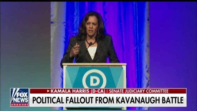Kamala Harris calls Brett Kavanaugh confirmation a 'sham' and 'disgrace'