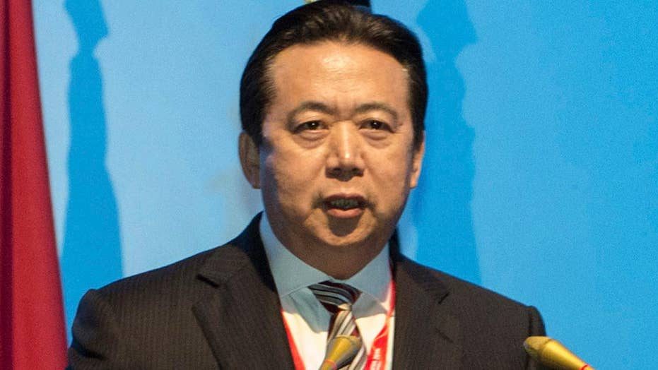 Former head of Interpol accused of corruption