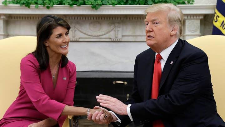 Trump praises Amb. Nikki Haley: We will miss you
