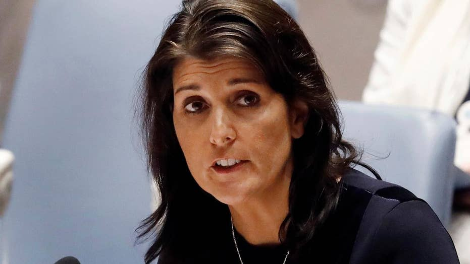 'Shock and surprise' at State Department over Haley exit