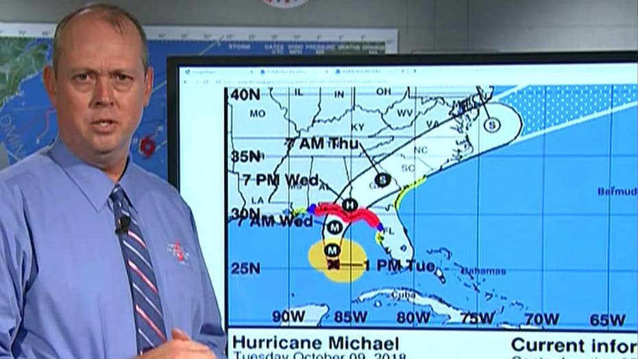 NHC warns Hurricane Michael is a 'very dangerous storm'