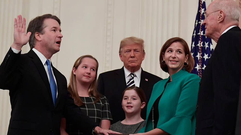 Trump apologizes to Kavanaugh on behalf of American people