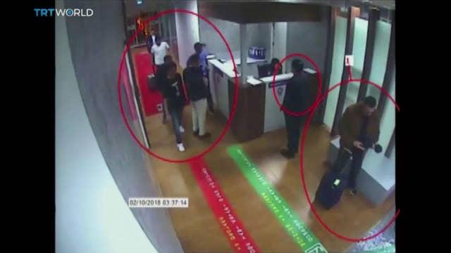 Missing journalist: Video shows alleged 15-member Saudi kill team
