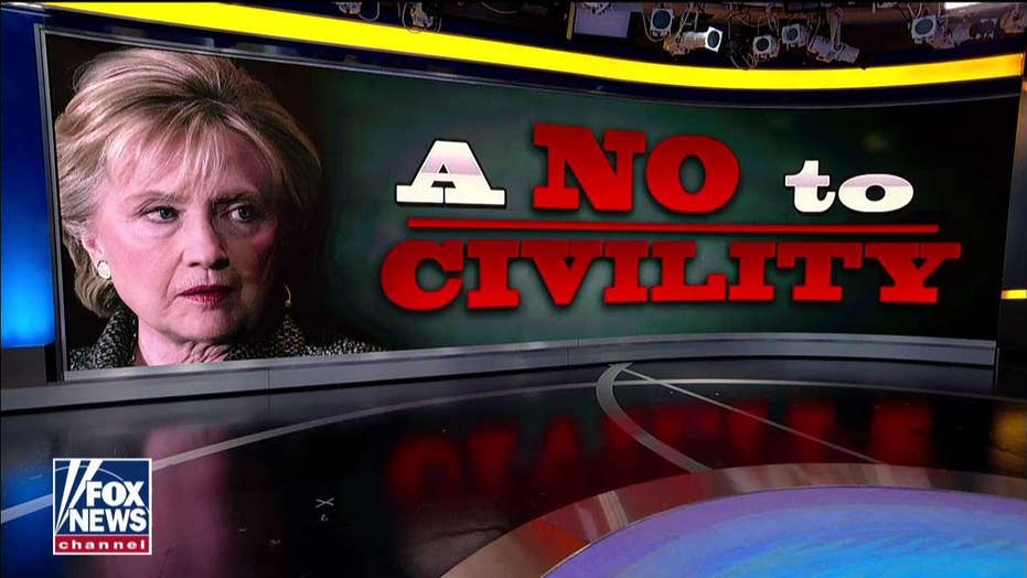 'Unfortunate and Graceless': Conway Rips Clinton for Remarks that Dems Can't Be 'Civil' With GOP