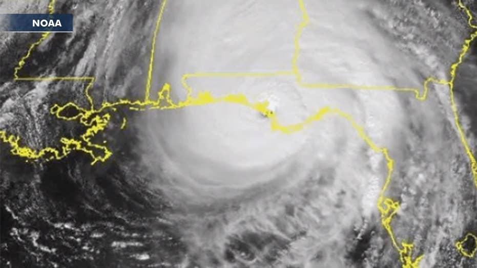 Hurricane Michael roars ashore