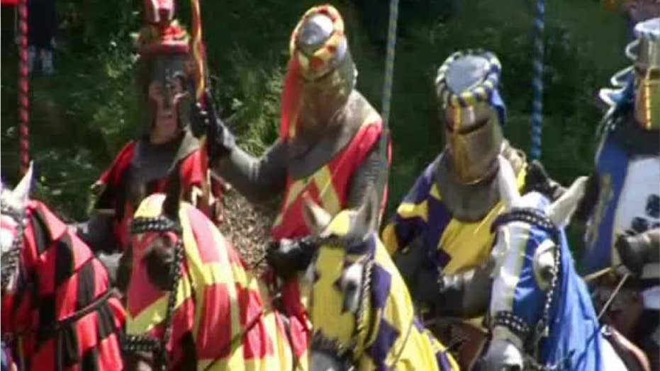 Medieval re-enactment actor killed by his own spear