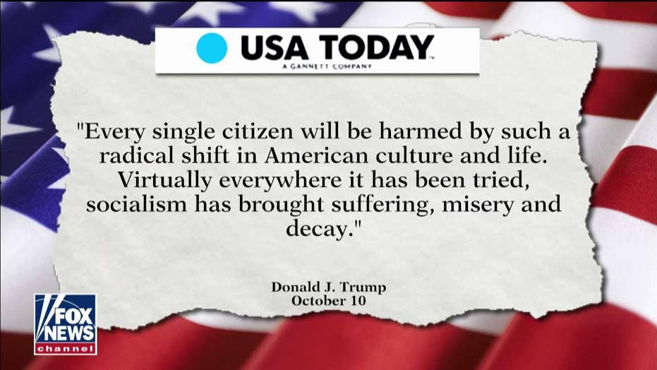 Gutfeld Praises Trump Op-Ed