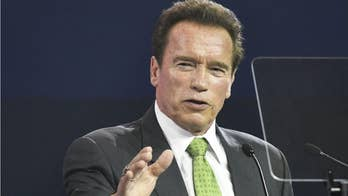 Arnold Schwarzenegger blindsided, dropkicked in the back during sporting event in South Africa