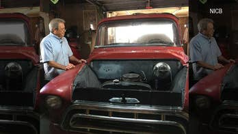 Stolen classic 1957 Chevy pickup found in Mexican junkyard
