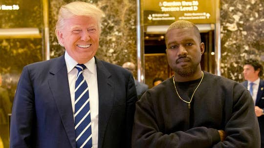 President Trump details agenda for Kanye West meeting