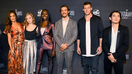 'Titans' star Brenton Thwaites explains why series drop F-bomb to DC Universe