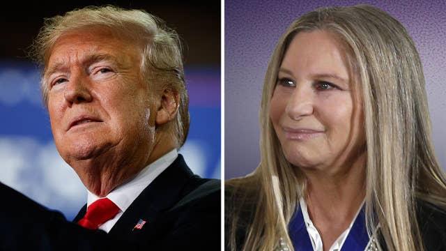 Barbra Streisand goes after President Trump