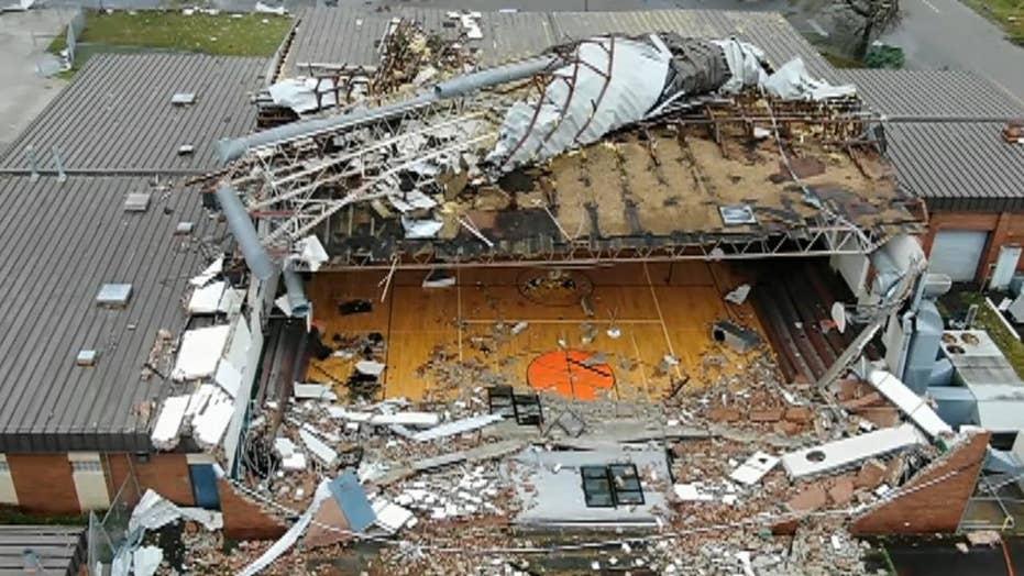 Drone shows Hurricane Michael's wrath in Panama City