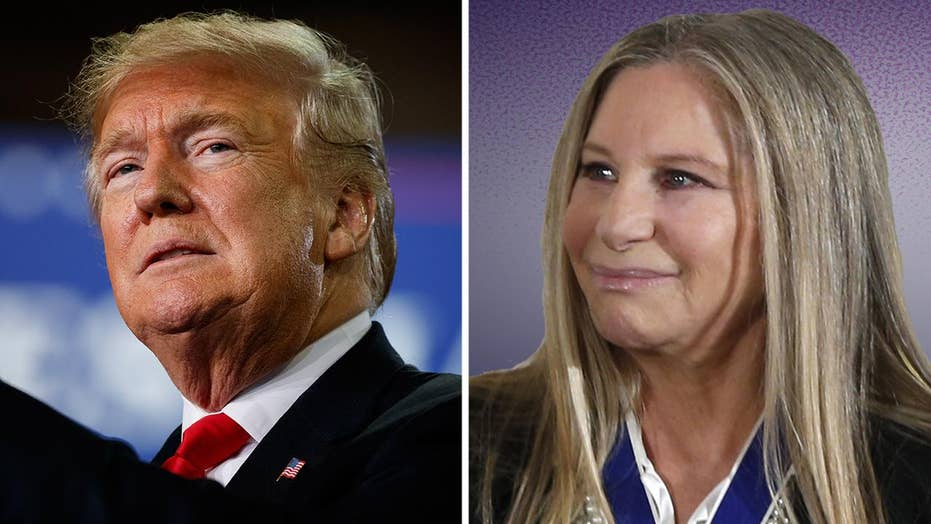 Barbra Streisand goes after President Trump