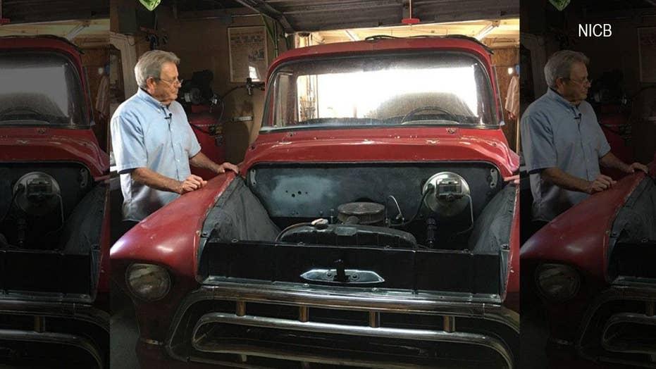 Stolen classic 1957 Chevy pickup found in Mexican junkyard